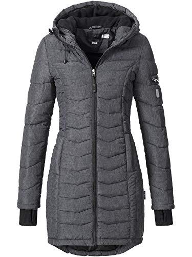Sublevel Damen Mantel, Schwarz (dark grey), Gr. M