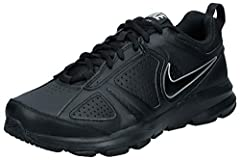 Idea Regalo - Nike T-Lite XI, Scarpe da Ginnastica Uomo, Nero (Black/Black-Metallic Silver), 42 EU (7.5 UK)
