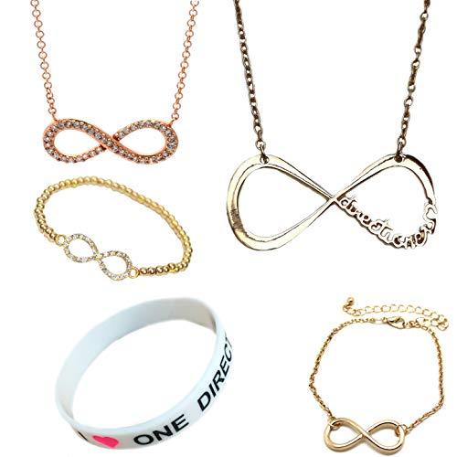 Orion Creations One Direction Geschenk-Set. Halsketten, ArmbŠnder und Geschenkbox Orion Handy