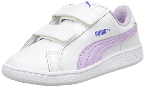 Puma Smash Fun L V, Baskets Basses Mixte Enfant