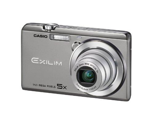 Casio Exilim EX-ZS15 Digitalkamera (14 Megapixel, 5-fach opt. Zoom, 7,6 cm (3 Zoll) Touchscreen, HD-Video) silber