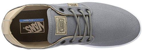 Vans Ua Brigata Lite, Sneakers Basses Homme Gris (C And L Frost Gray)