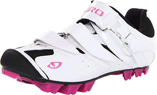 Giro Manta Damen MTB Schuhe weiß/rot 2014: Größe: 38.5