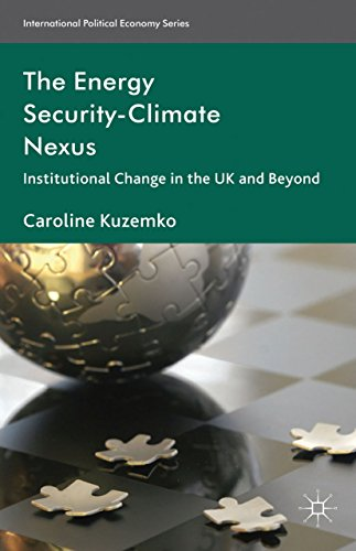 The Energy Security-Climate Nexus: Institutional Change in the UK and Beyond (International Political Economy Series)