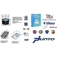 Kit filtri tagliando UFI Panda 169 1.2 Natural Power 44 Kw + 4 Litri Olio Selenia Multipower 5W40