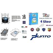 Kit filtri tagliando UFI Lancia Ypsilon 1.4 GPL 57 Kw + 4 Litri Olio Selenia Multipower 5W40