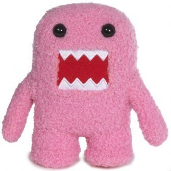 Domo Rucksack (Domo-kun 8.5 Pink Plush Doll - Pink Domo by Domo)
