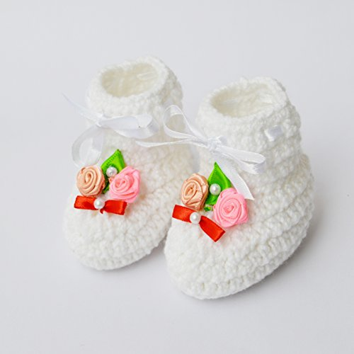 love crochet art classic crochet baby woolen booties for 6-12 months - white - 41x76IYA3HL - Love Crochet Art Classic Crochet Baby Woolen Booties for 6-12 Months – White home - 41x76IYA3HL - Home