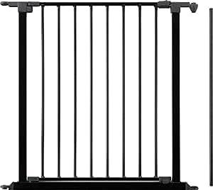 babydan 67546 2600 19 88 t r element f r flex gitter shwarz baby. Black Bedroom Furniture Sets. Home Design Ideas