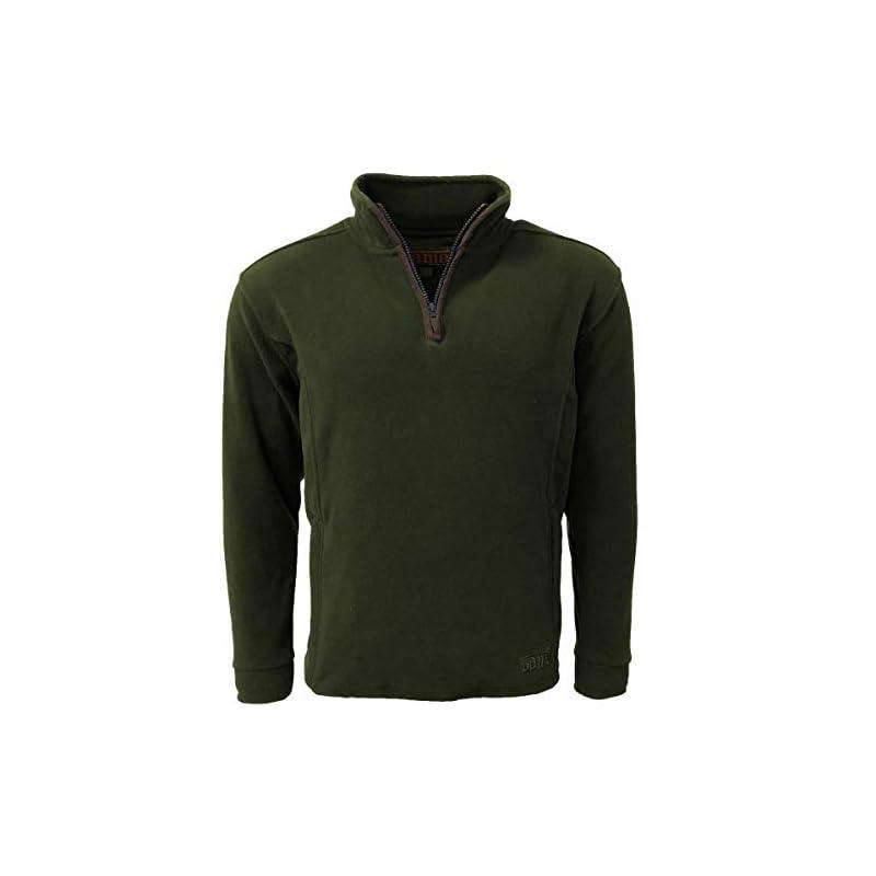 Game Technical Apparel Mens Stanton Fleece Pullover Winter Warm Half Zip Jumper