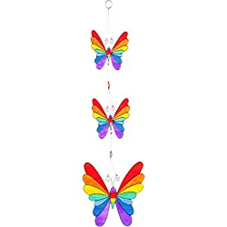 String von Rainbow Schmetterlinge Suncatcher