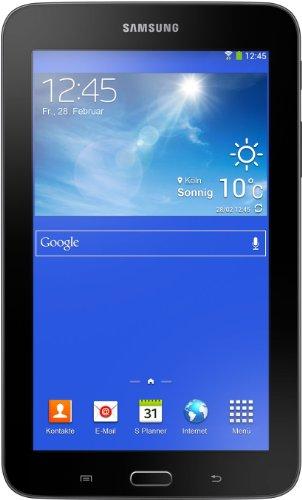 Samsung Galaxy Tab 3 7.0 Lite  17,8 cm (7 Zoll) Tablet-PC (Dual Core Prozessor, 1,2GHz, 1GB RAM, 8GB HDD, Android 4.2, Wi-Fi) schwarz