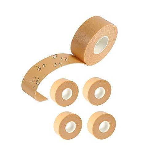 QTDH 5 Rolls Heel Grip Tape - Fußpflegeaufkleber - Vorbeugungsverbände - Vorbeugung Von Blasen- Und Reibkissenschutz Für Männer Und Frauen