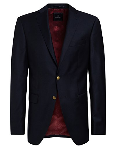 BARUTTI Sakko Tarso Super 150 S, Regular Tailored Fit navy in 56 (Zwei-knopf-anzug Tailored)
