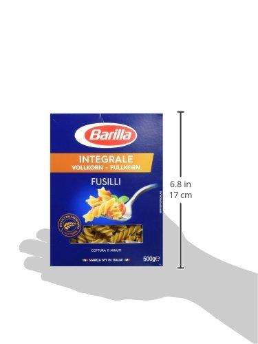 Barilla Vollkorn Pasta Fusilli Integrale – 1er Pack (1x500g) - 6