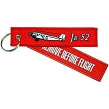 Llavero 'Remove Before Flight'–de Ju 52–Incluye Llavero