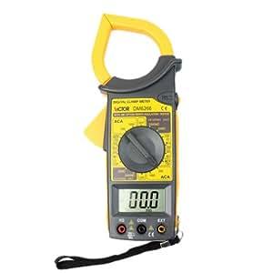 VICTOR DM6266 Digital Pince multimètre portable Auto Gamme voltmètre ampèremètre ohmmètre portable Auto Gamme LCD écran 50mm Ouverture de pince