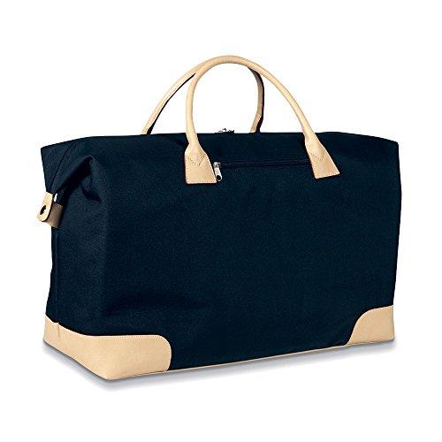 eBuyGB Large Weekend Travel Hand Luggage Bag Sac de sport grand format, 69 cm, Noir (Black)