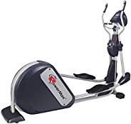 PowerMax Fitness Unisex Adult EC-2000 Elliptical Cross Trainer with Free virtual assistance and With Big Strid