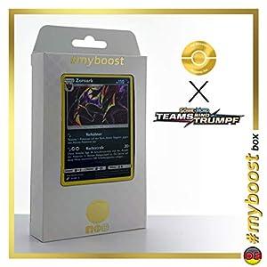 Zoroark 91/181 Holo - #myboost X Sonne & Mond 9 Teams Sind Trumpf - Box de 10 Cartas Pokémon Alemán