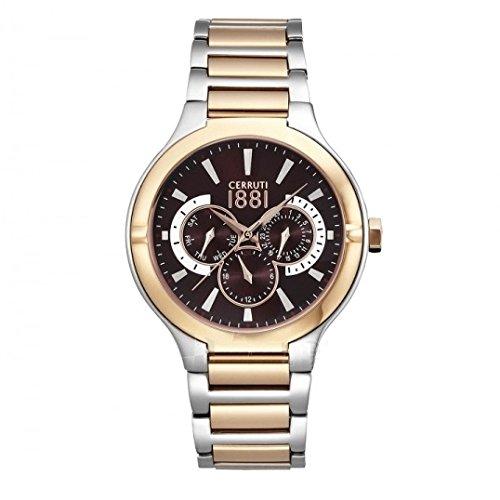 Reloj cuarzo para hombre Cerruti 1881 Anacapri Back Dial CRA105STR12MRT