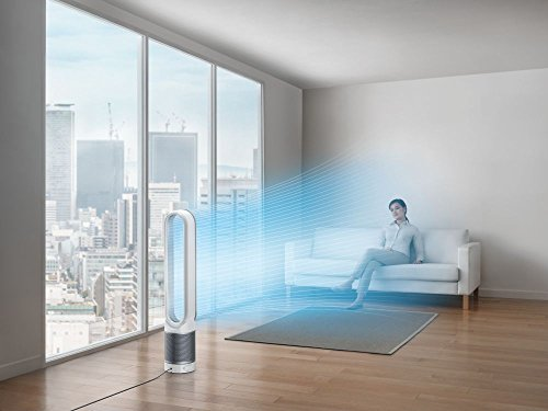 Dyson Pure Cool Link Tower WiFi-Enabled Air Purifier (White/Silver)