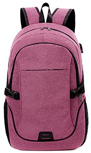 Freitop Business Laptop Multifunktionsrucksack Herren Damen Unisex Wasserfest Koreanischer Rucksack Sporttasche Reiserucksack aus Oxfordgewebe mit USB-Batterieladung-Anschluss Großer - Lehrer-notebook-rucksack