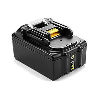 Energup 18V 5,0Ah Lithium-Ionen-Akku Ersatz Akku für Makita BL1850 BL1840 BL1830 BL1815 194205-3 194309-1 LXT400 Werkzeugakkus