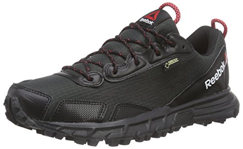 Reebok Damen One Sawcut 30 GTX W Walkingschuhe, Schwarz (Black/Gravel/Chalk/Neon Cherry 000), 38.5 EU