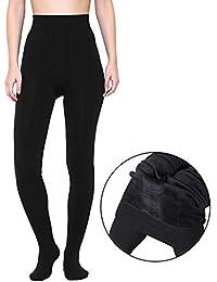 a1c2c0668 Golden Girl Women Winter Special Stockings With Fleece Inside  (091131_Black_Free Size)