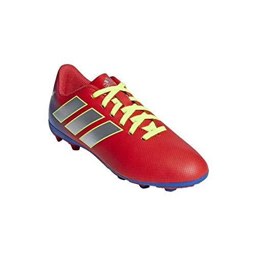 adidas Unisex-Kinder Nemeziz Messi 18.4 Fxg J Fußballschuhe, Mehrfarbig (Multicolor 000), 35 EU