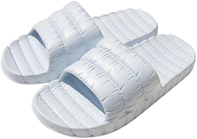 BAOZIV587 - Zapatillas de baño para exteriores (36-37), color azul
