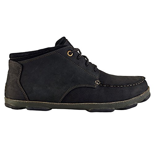 Olukai Hamakua shoe–uomo Black/Dark Shadow