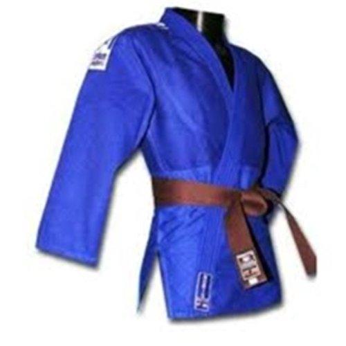 Noris Judo Anzug, 450 g, ohne Streifen, Blau, blau, 160 cm