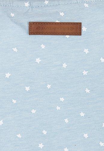 Naketano Female Shortsleeve EyHammaAltaLaaaaaba III Pastel Blue Melange