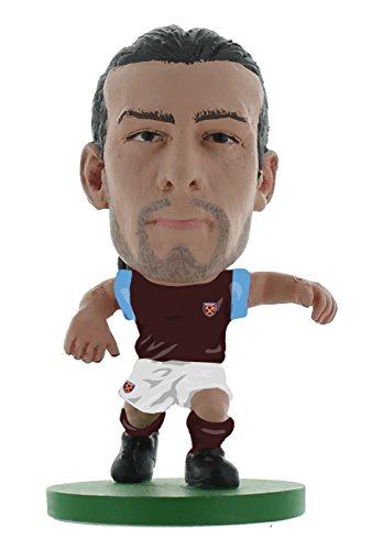 SoccerStarz SOC402 Classic West Ham Andy Carroll - Kit de hogar