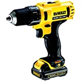 DeWALT DCD710C2 - cordless combi drills (Lithium-Ion (Li-Ion), Black, Yellow)