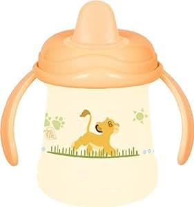 """ROTHO BABYDESIGN La tasse anti-fuites """"Le roi lion"""" vaisselle bébé, naturel"""