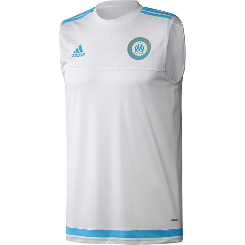 loses Olympique Marseille Sleeveless Shirt Blue/Dkblue, S ()
