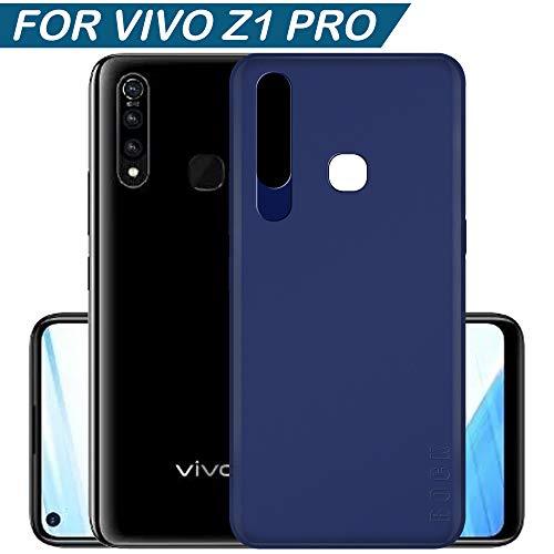 Hupshy Soft TPU Back Cover for Vivo Z1 Pro - Blue
