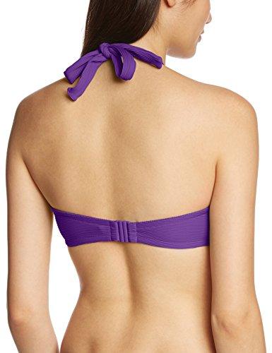 PRINCESSE tam.tam Damen Bikinioberteil Bandeau-Bikini ROMANE Violett (Violet persan (Lila) 9020)