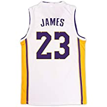 BUY-TO Baloncesto Jersey EE.UU. NBA Lakers Lebron James 23 para Hombres