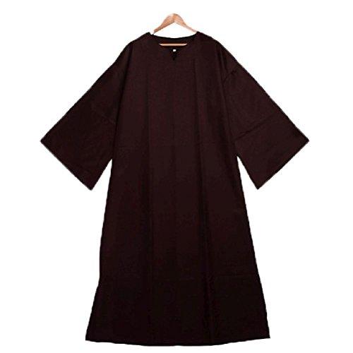 ichen Robe Ritual Robe Umhang Clergy Cassock mit Gürtel Cosplay Kostüm (Schwangere Katze Kostüm)
