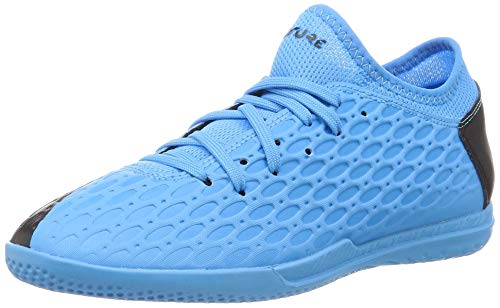 Puma Unisex-Kinder Future 5.4 It Jr Fußballschuhe, Blau (Luminous Blue-NRGY Blue Black-Pink Alert 01), 33 EU