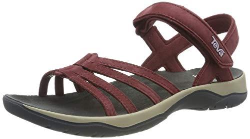 Teva Damen Elzada Sandal LEA W's Riemchensandalen, Rot (Port 807), 37 EU (Schuhe Frauen Teva)