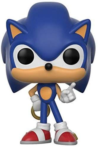 Pop Sonic the Hedgehog with Ring Vinyl Figure