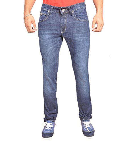Wrangler Blue Slim Fit Jeans by Trendzy Store(Size-36)  available at amazon for Rs.999