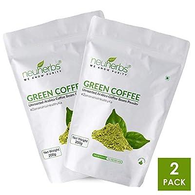 Green Coffee Beans Powder, Pack of 2- Each 200g (7.05 OZ) by Neuherbs from Neuherbs