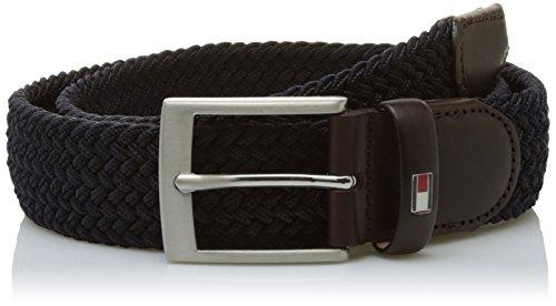 Tommy Hilfiger New Adan Belt 3.5, Cintura Uomo, Blu (Midnight), 100 cm (Taglia Produttore: 100)