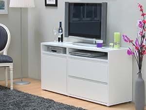 tv schrank vision hifi m bel kommode anrichte sideboard fernsehschrank weiss k che. Black Bedroom Furniture Sets. Home Design Ideas